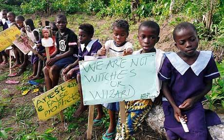 Children branded witches by parents and relatives - NET PICTURE